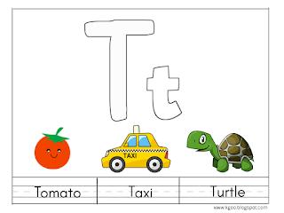 أوراق عمل حرف T T مع الكلمات التي تبدأ به والترجمة بالعربية Mario Characters English Lessons Learning Arabic