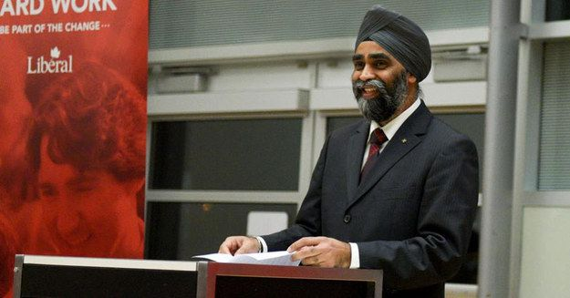 One Of The Most Badass Sikhs In The World Is Now Canada's Defense Minister