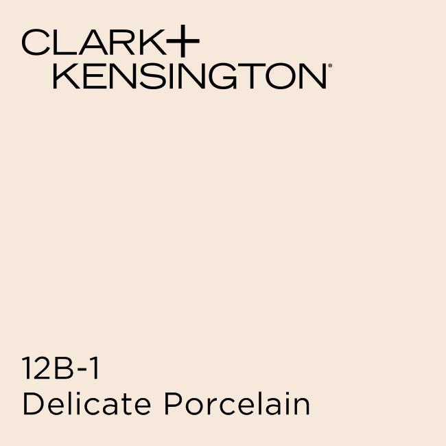 Taupe Exterior House Color Ideas: Delicate Porcelain By Clark+Kensington