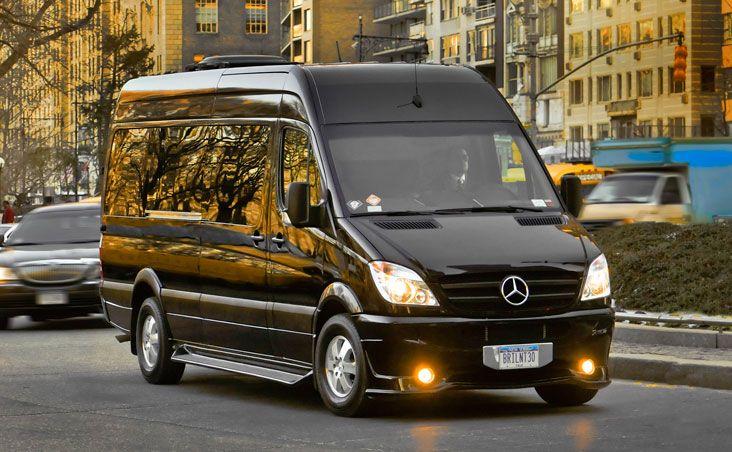 Brilliant offers luxury van and mini bus transportation