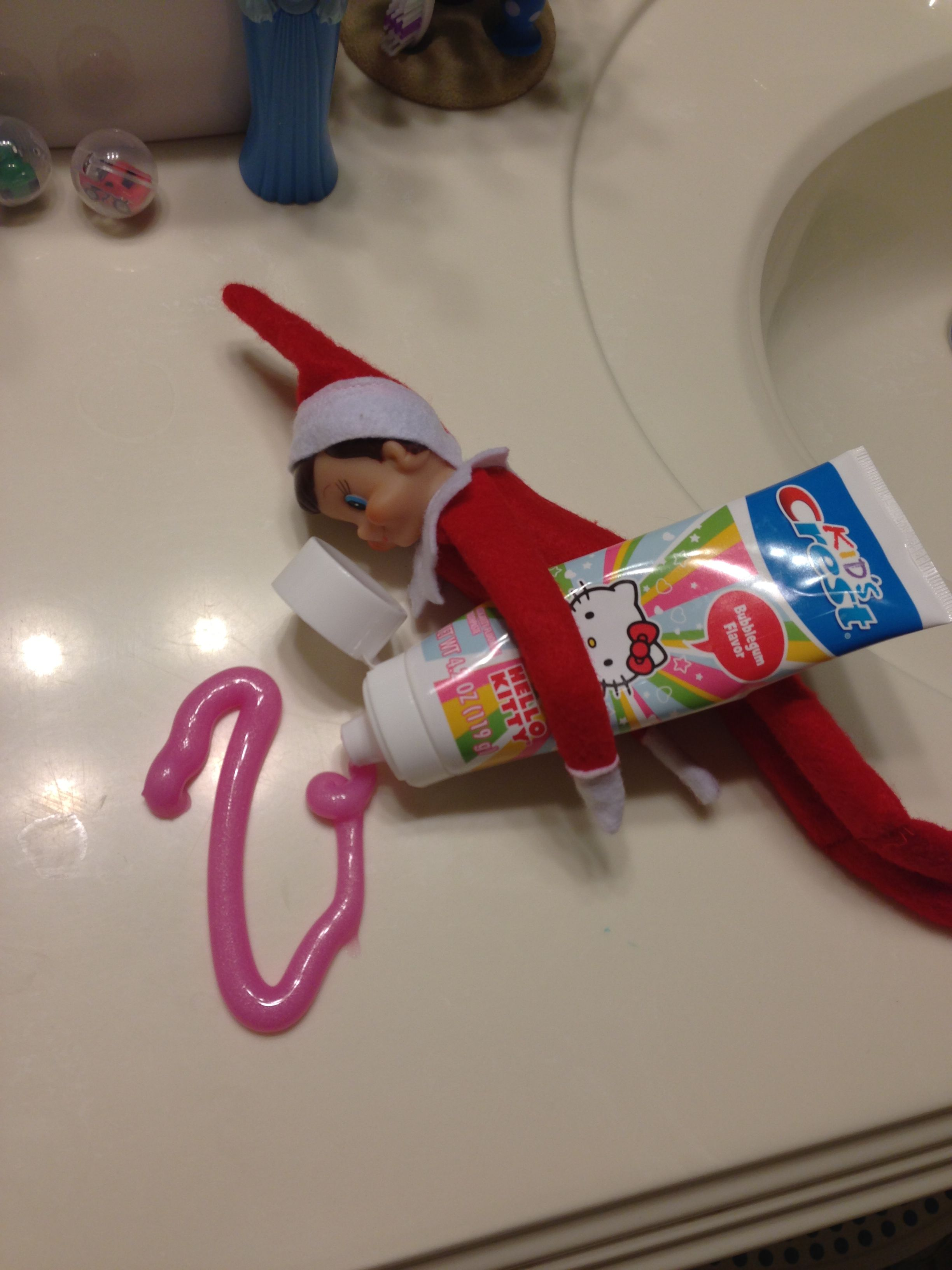 Elf On A Shelf Toothpaste