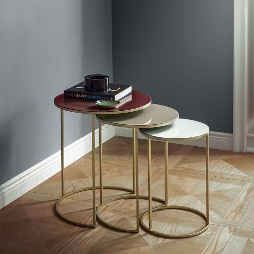 Marble And Gold Margaux Laptop Table: Pin By Amy Livers On Furniture In 2019