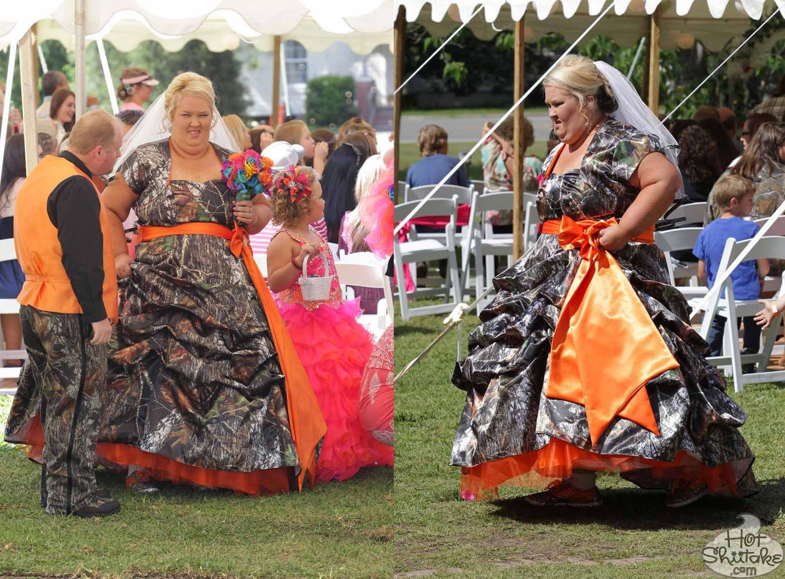 Of course mama june wore a camouflage wedding dress of course of course mama june wore a camouflage wedding dress of course honeybooboo ombrellifo Images