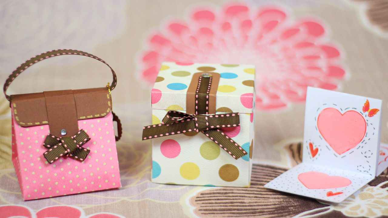 Caja tarjeta Manualidad día de las madres FÁCIL
