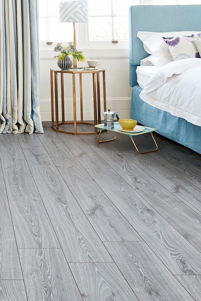 Series Woods Professional 12mm Laminate Flooring Grey Oak Grey Flooring Grey Laminate Flooring Bedroom Flooring