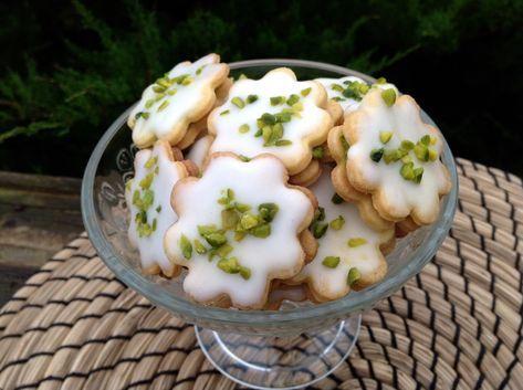 Pistazien-Zitronen-Kekse, ein fruchtiger Genuss - Aus meinem Kuchen und Tortenblog