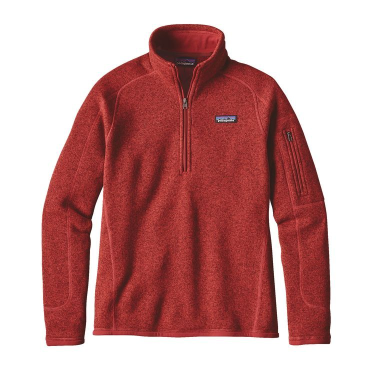 Women's Better Sweater® 1/4-Zip Fleece | Patagonia, Patagonia ...