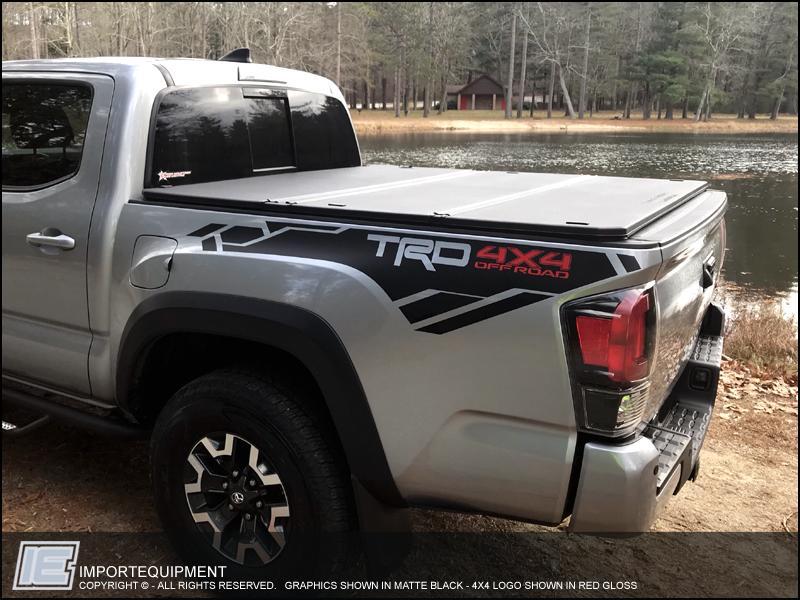 Toyota TRD 4x4 Off Road Graphics Kit Fits 2016