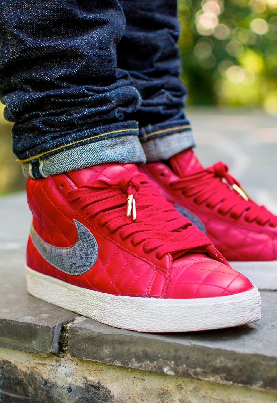 df5383dfce5 Nike SB Blazer  Supreme  Red (by OliverWeiss13) – Sweetsoles – Sneakers