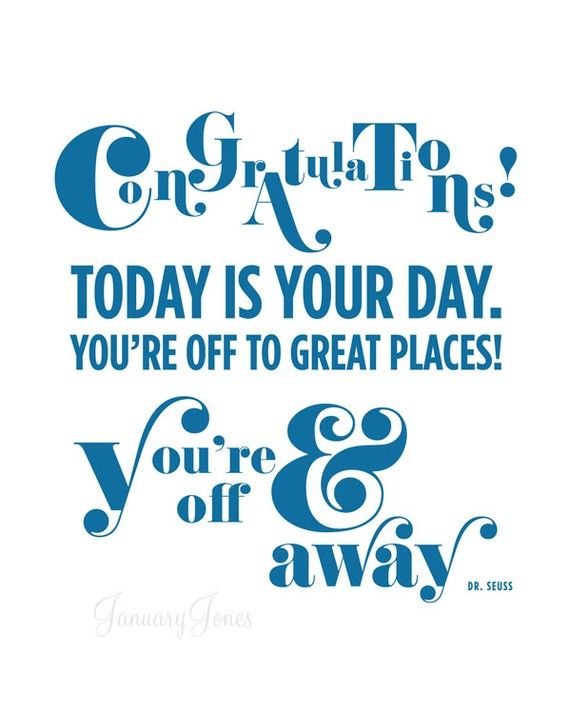 Dr Seuss Quote Today Is Your Day Art Print By Januaryjonesprints