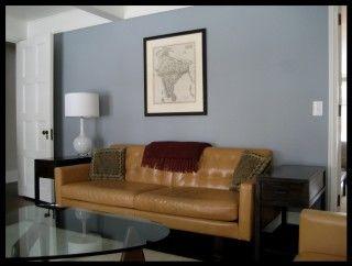 Living Room And Den Benjamin Moore November Skies