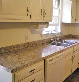 Countertop Paint  Gianigranite  Testimonials Sicilian Sand Awesome Kitchen Counter Top Design Inspiration