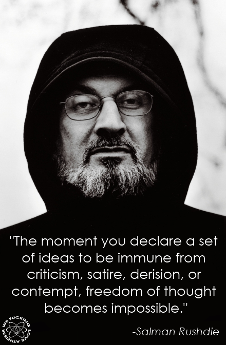 Salman Rushdie Quote Islamists Want Him Dead Quotes I Love