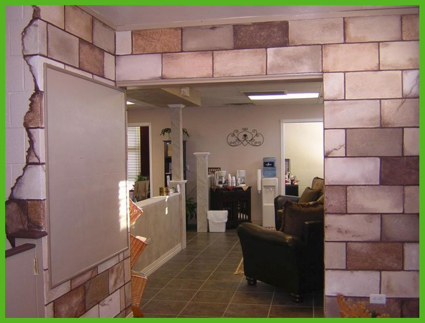 Cinder Block Basement Wall Ideas | Ugly Basement Ideas | Pinterest