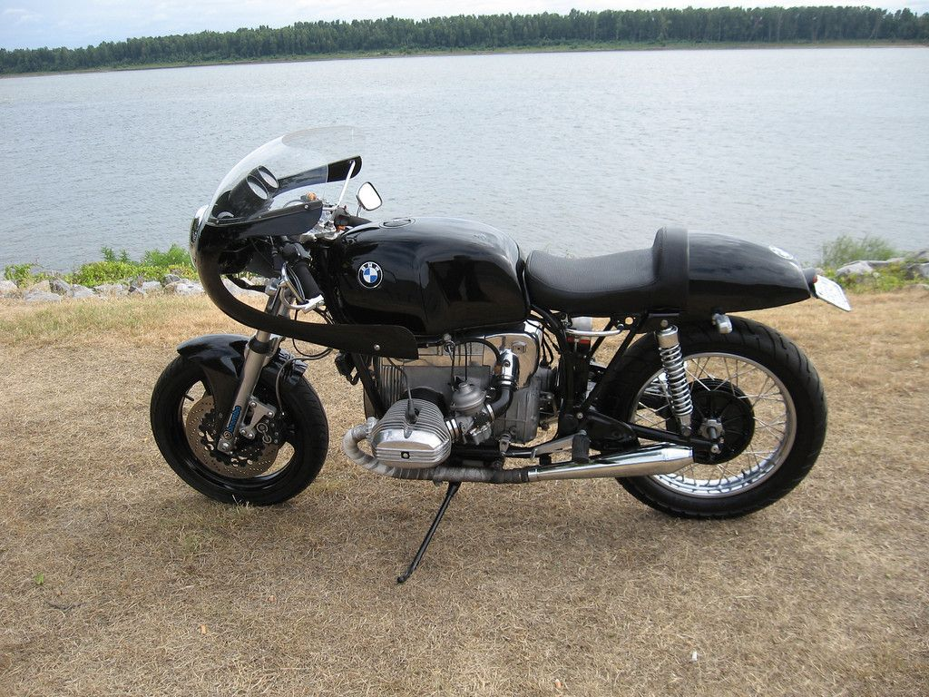 1978 Bmw R100 Cafe Racer K100rs Forks Wheel Ducati Fairing B