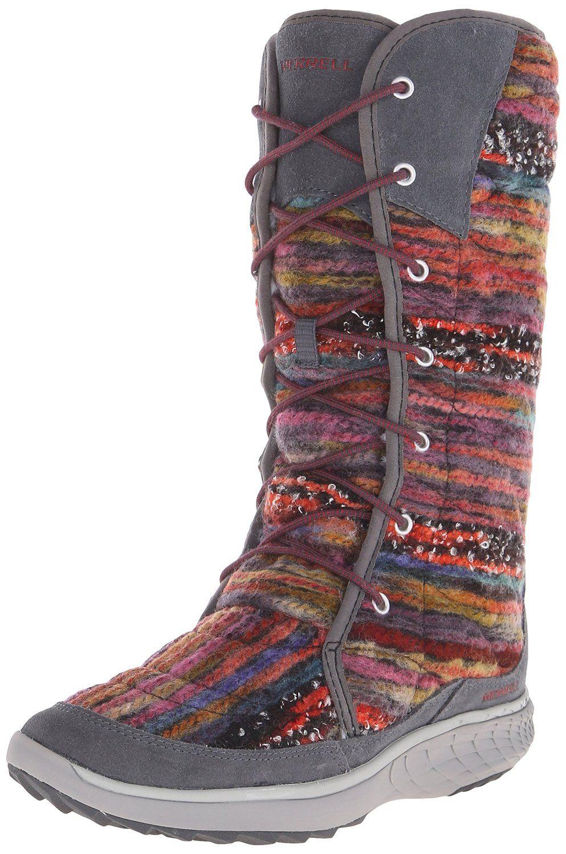 Merrell Women's Pechora Sky Winter Boot ** Review more details here :  Women's snow boots