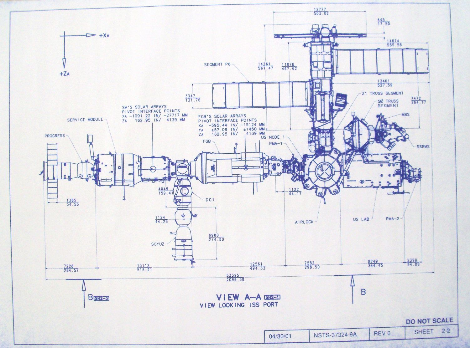 mir space station blueprint (page 3) - pics about space