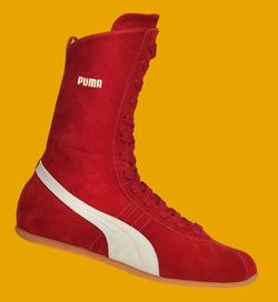 Red Puma Boxing Boots   Boxing boots