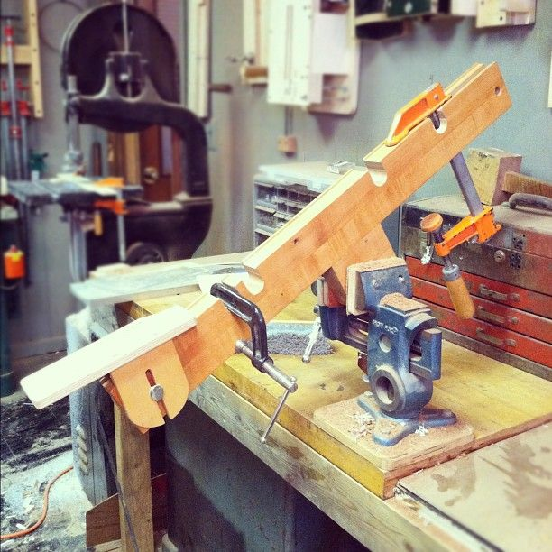 guitar neck shaping jig