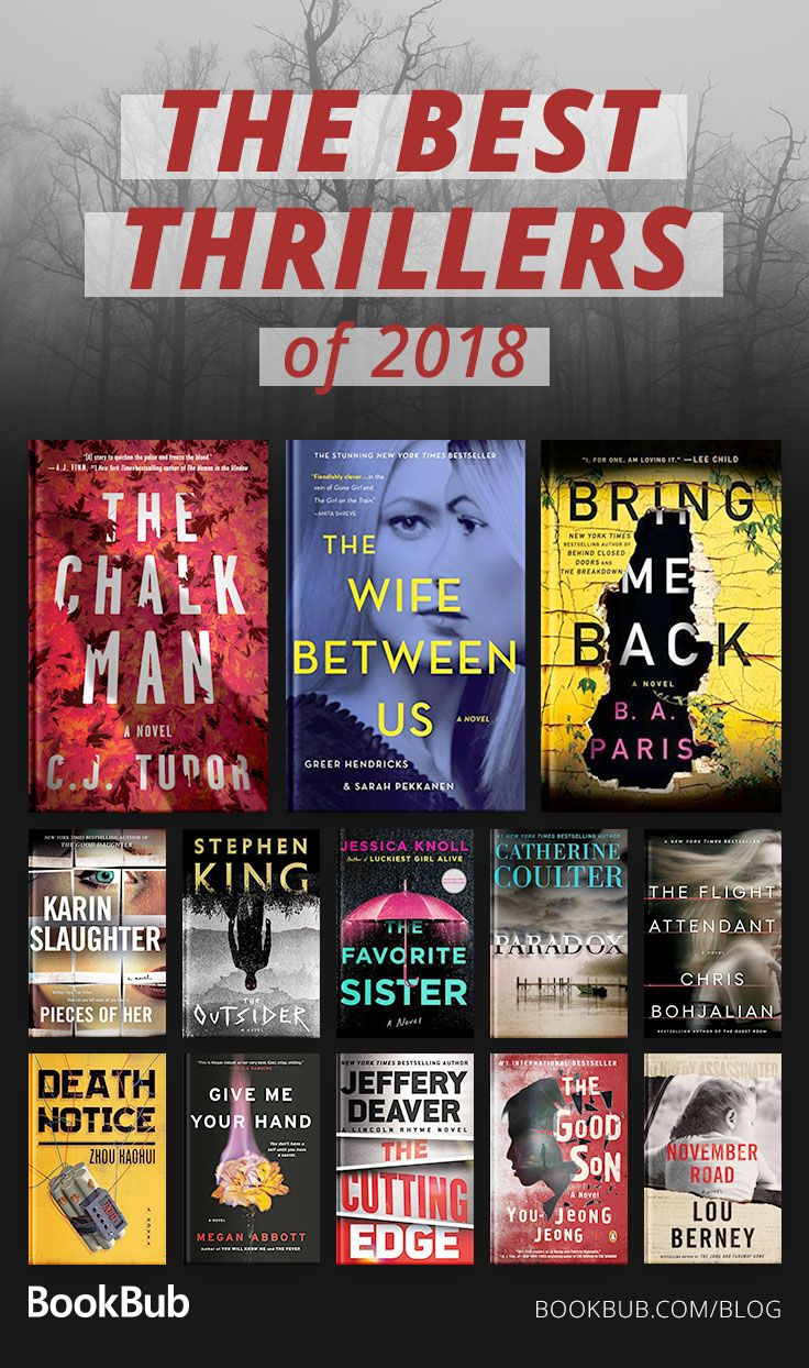 Best Thriller Books 2019 26 Thriller Books We Couldn't Put Down This Year in 2019 | Mystery