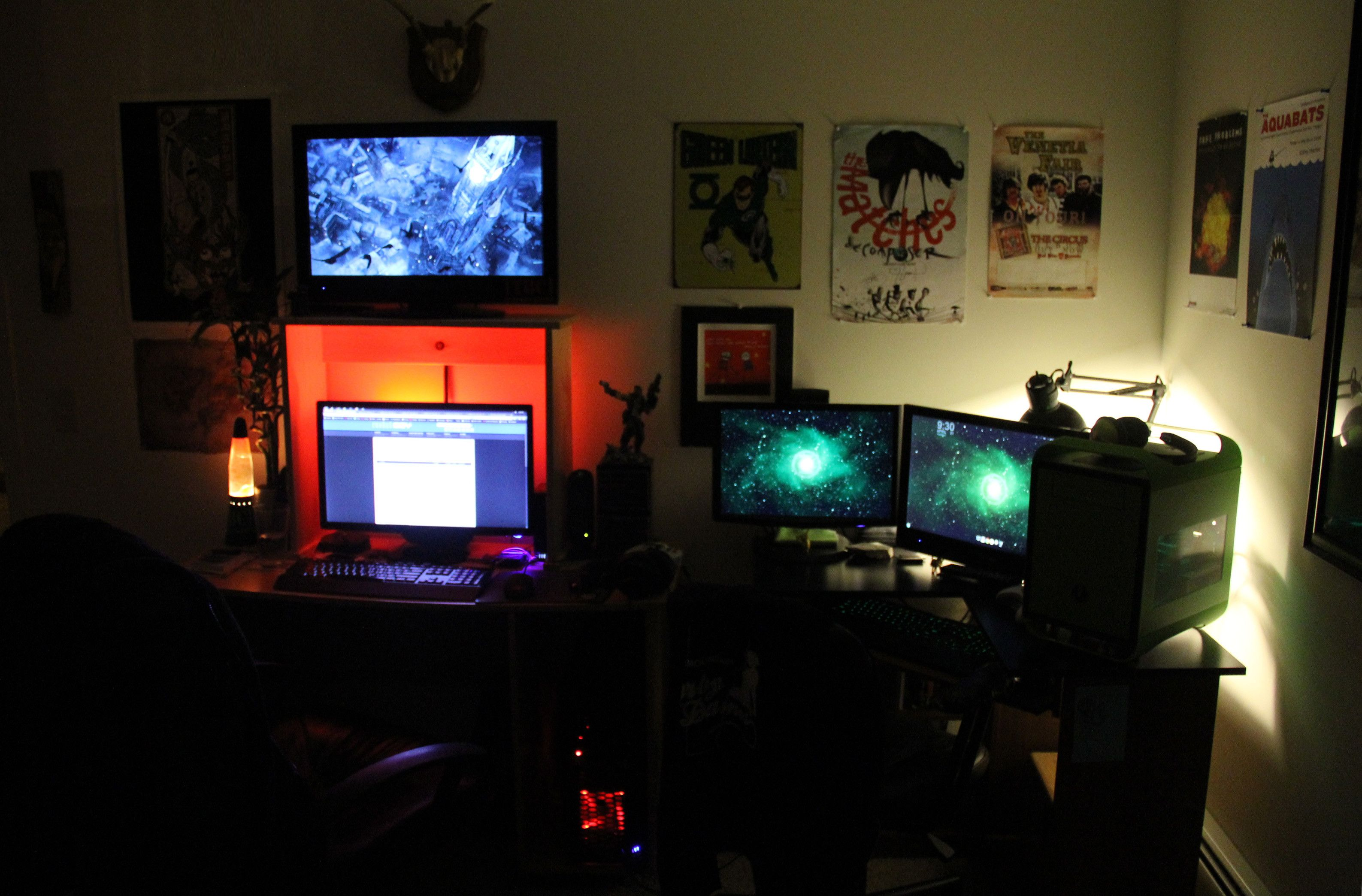 His Her Battlestations Battlestation Laptop Gaming Setup Custom Pc