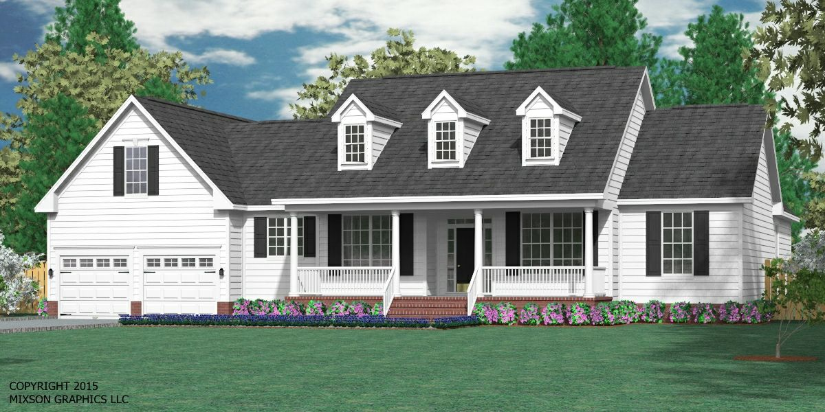 House Plan 2248 B The Britton B Cape Cod House Plans Cape Cod House Exterior Cape Cod House