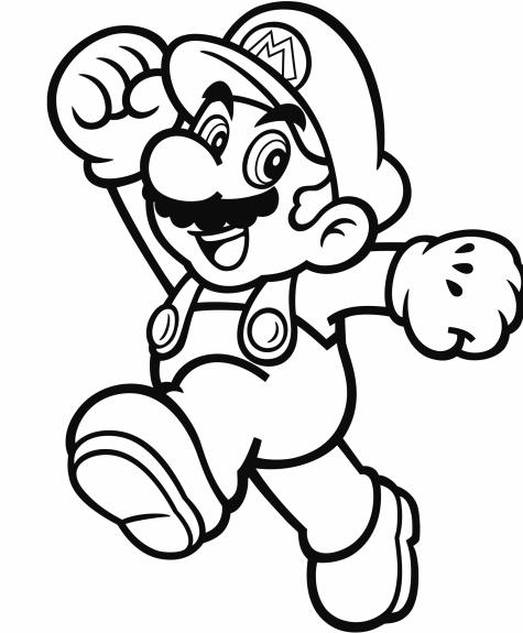 Mario Printable Coloring Pages Libri Da Colorare Disegni Da Colorare Disegni A Mano