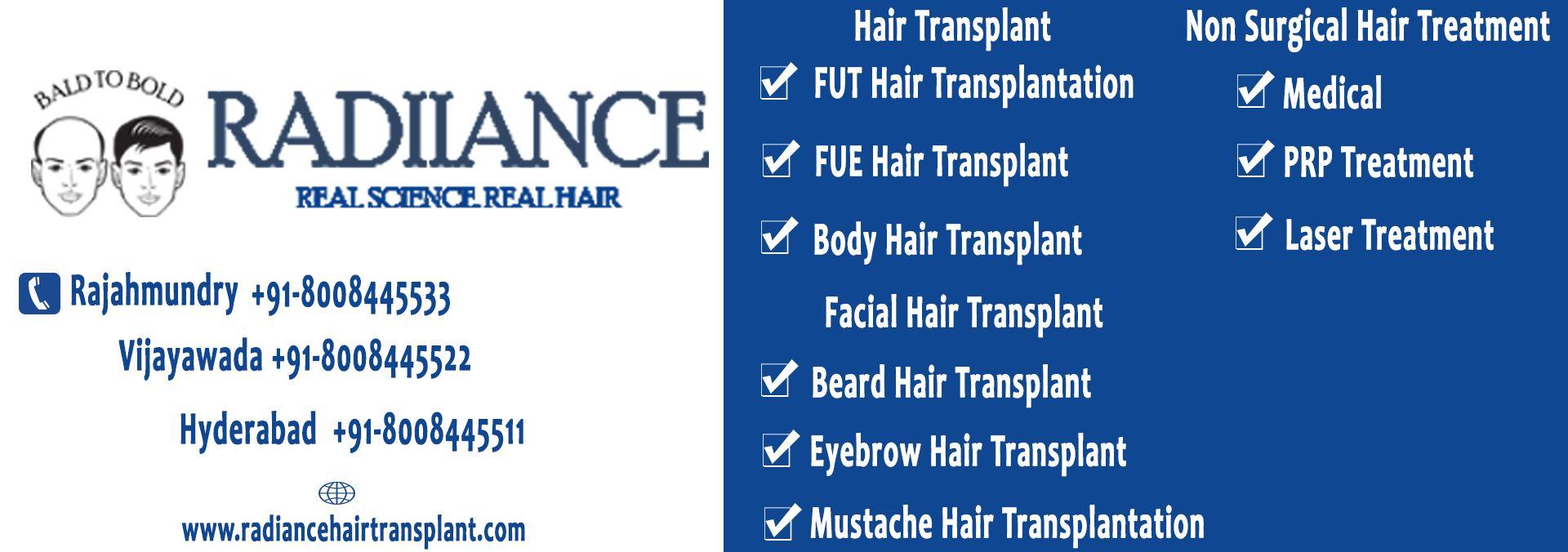 RadianceServices #HairTransplant #FUTHairTransplantation # ...