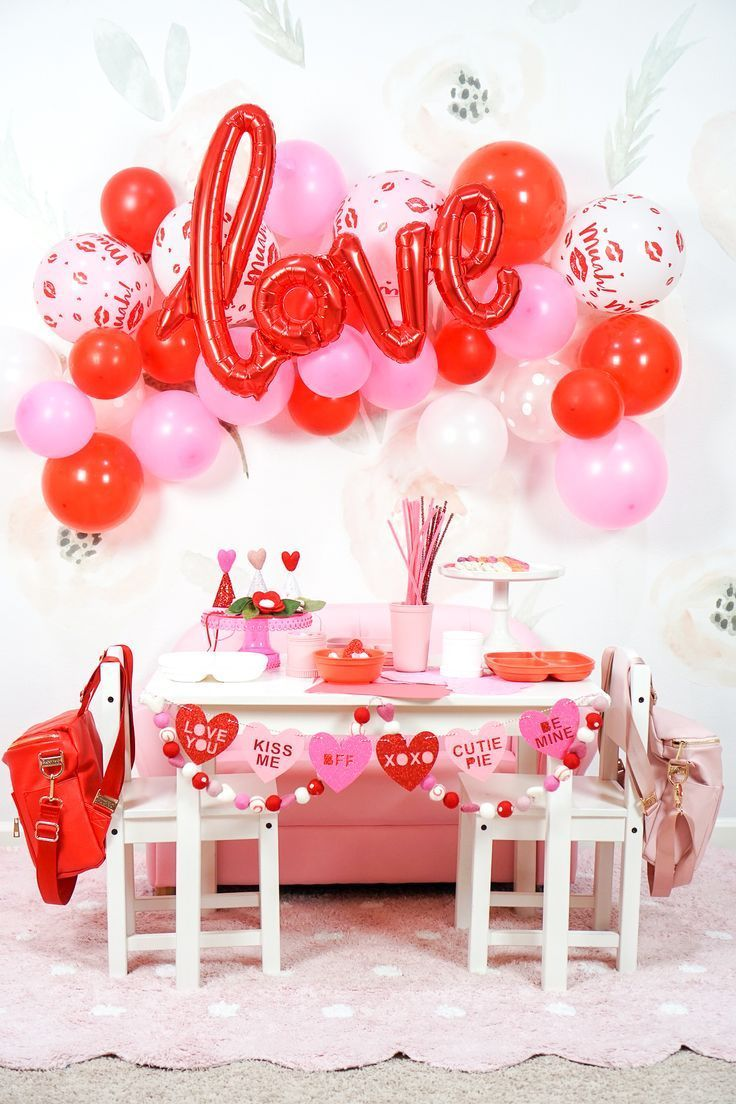 The Perfect Valentine S Day Party For Toddlers In 2020 Valentines Party Decor Valentines Theme Party Valentines Birthday Party