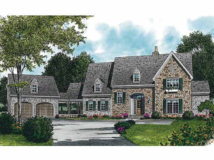 Eplans french country house plan breathtaking views for Eplan house plans