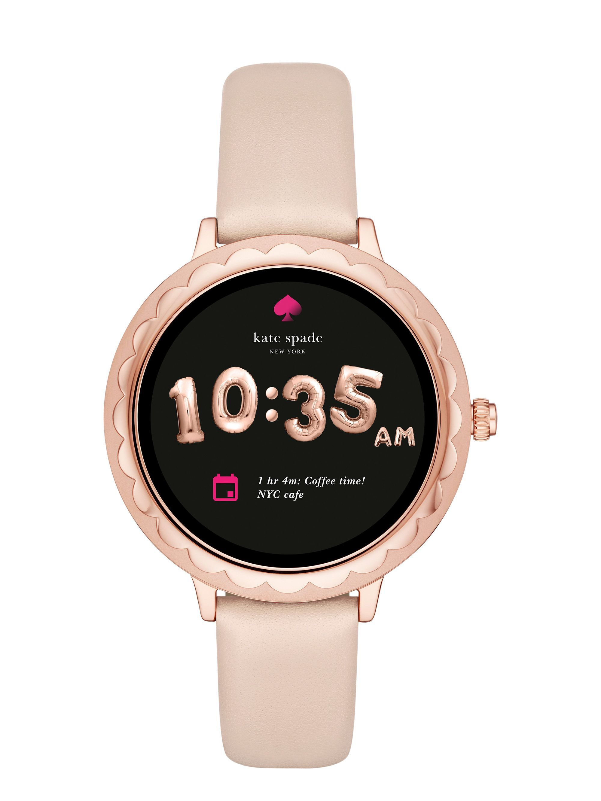 cc6189e19ac Kate Spade Scallop Touchscreen Smart Watch