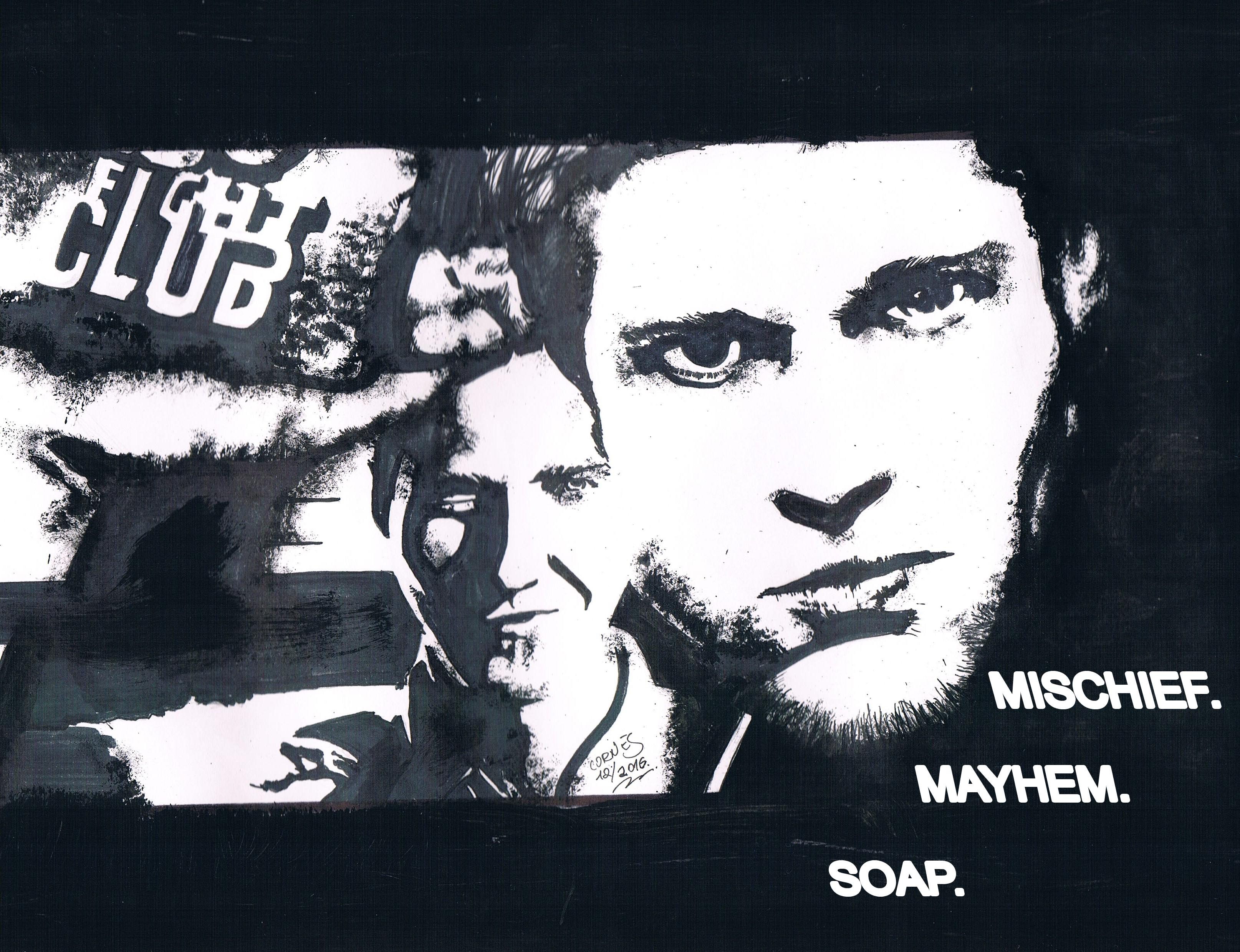 Fight Club (1999) by Sebastian Cornes