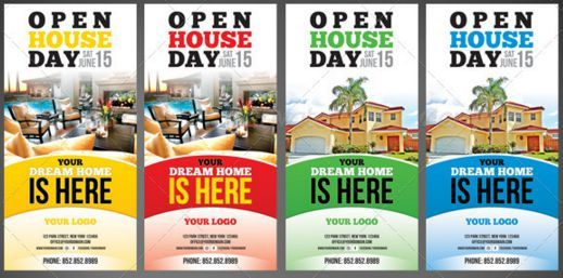 Open House Flyers For Apartments  Open House Flyer Ideas