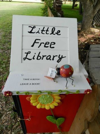 This Could Be A Low Cost Clever Amenity For Many Apartment Communities Give People A Reason To Linger Little Free Libraries Free Library Moving Gifts