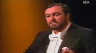 Luciano Pavarotti 1986 Silver Jubilee Concert New York - YouTube