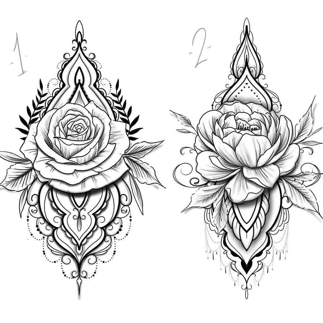 Tattoo Diseno Tatuadora Disenosdetatuajes Tatum Tatuagemsp Tatu Tattoos Tattoospain En 2020 Mandalas Para Tatuar Tatuaje De Rosa Realista Tatuajes Originales