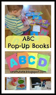 Craftulate: ABC Pop-Up Books