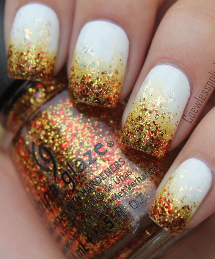 9 Easy Thanksgiving Nail Art Designs With Images Nails