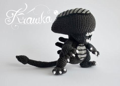 Alien Xenomorph Crochet Pattern By Krawka Best Geek Crochet