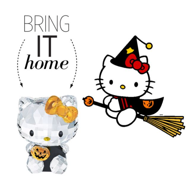 Bring It Home Swarovski Hello Kitty Halloween by polyvore-editorial - hello kitty halloween decorations