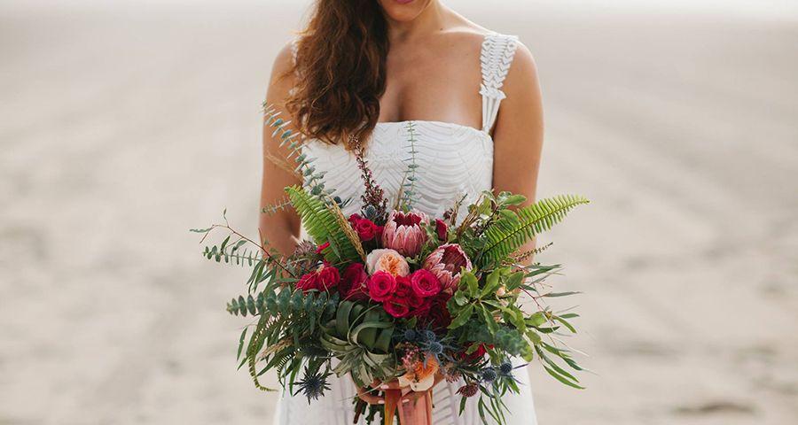 Beautiful boho luxe wedding inspiration - Chic & Stylish Weddings