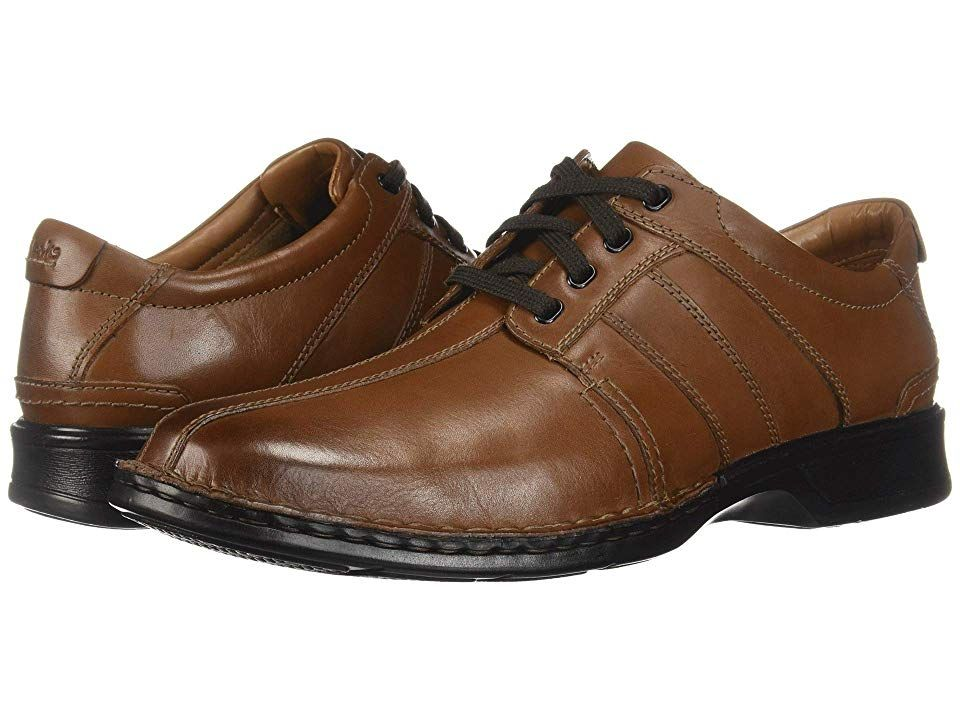 685870f64 Clarks Touareg Vibe (Brown Leather) Men s Shoes. The Touareg Vibe is part  of the Clarks Collection. Dress top-notch business casual during your work  week ...