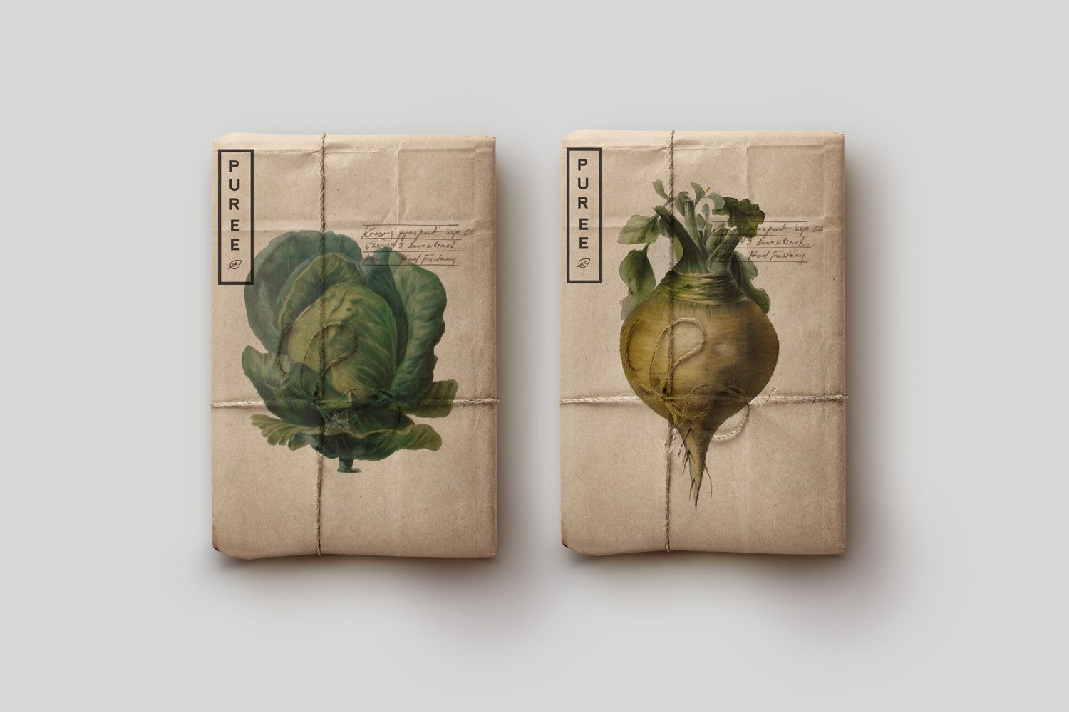 Puree | DESIGN :: packaging | Organic packaging, Vegetable