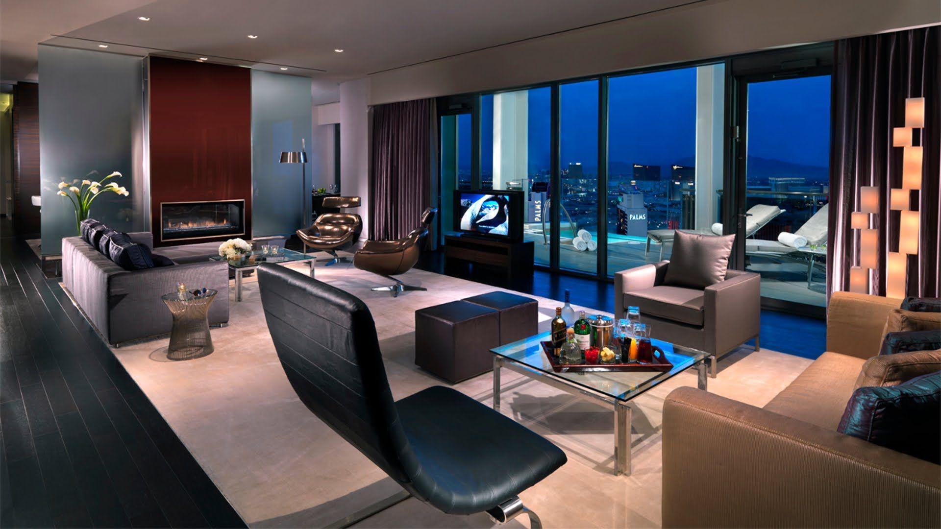 Tour of Penthouse Villa Palms Hotel Casino Las Vegas