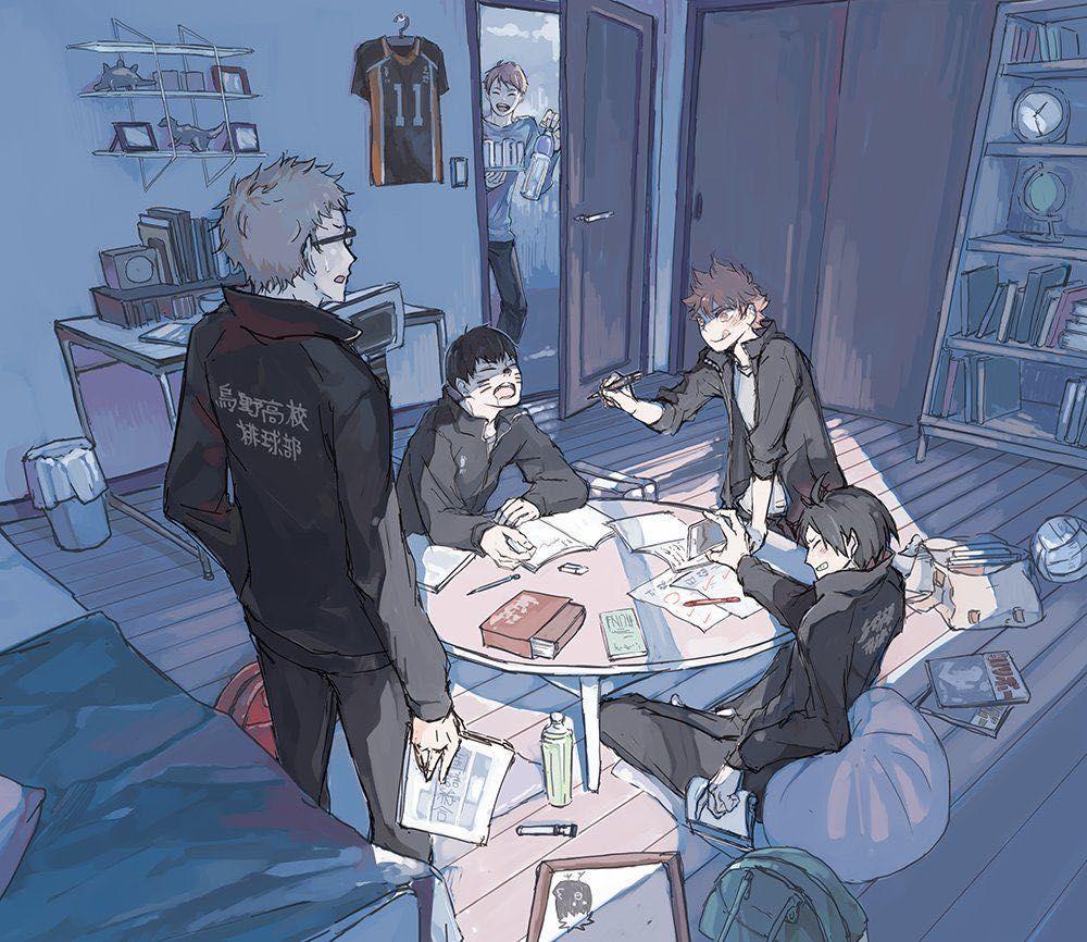 Friends (Tsukishima x Reader) - 3
