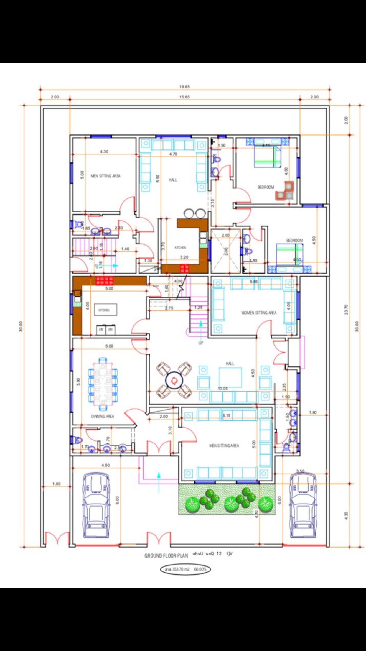 Pin By ماهر المزروعي On تصاميم Ground Floor Plan Apartment Floor Plans New House Plans