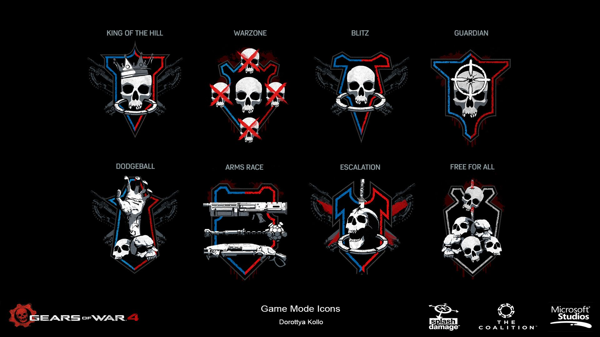 Gears Of War 4 Game Mode Icons , Dorottya