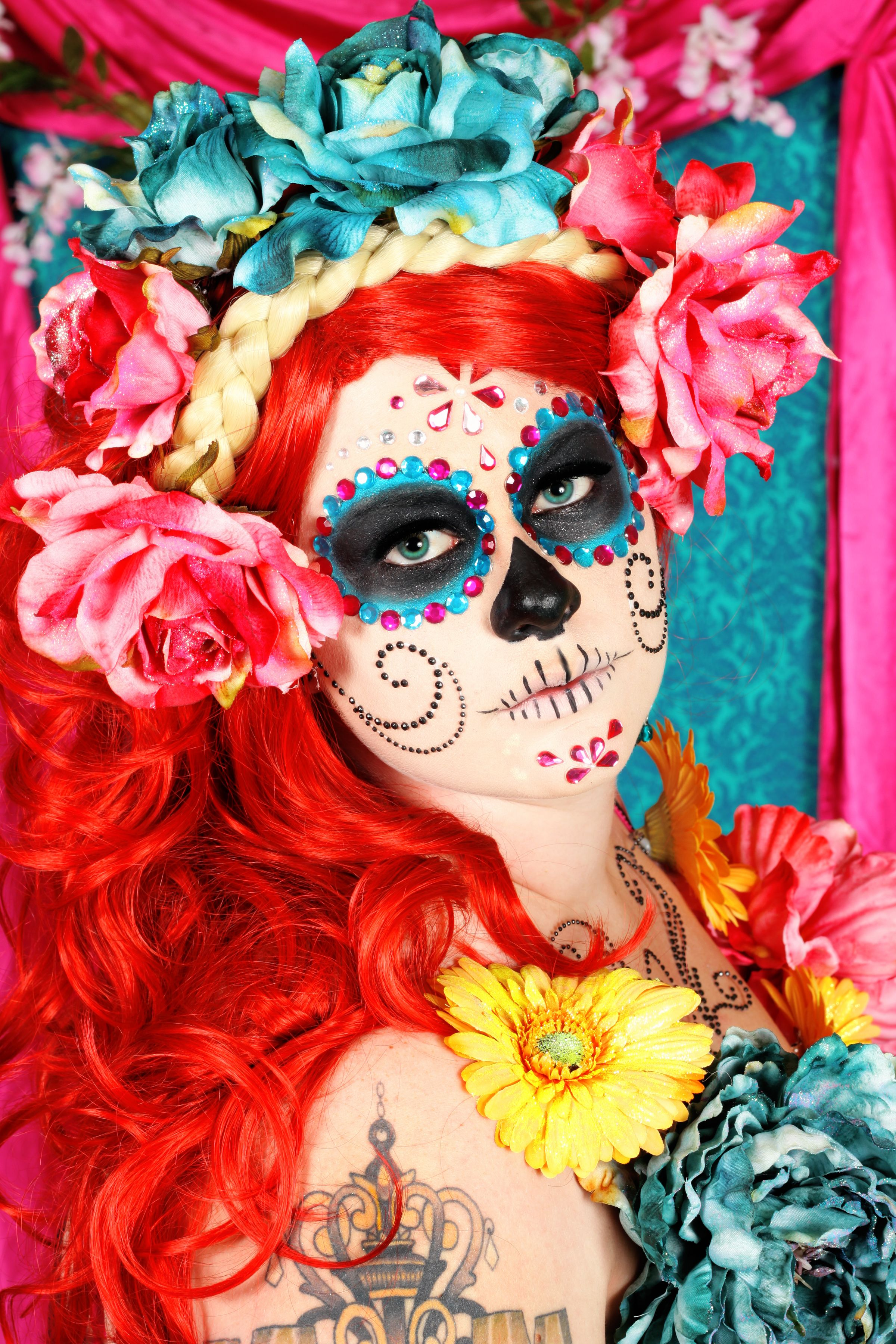 Meg Boulette - Day of the dead sugarskull