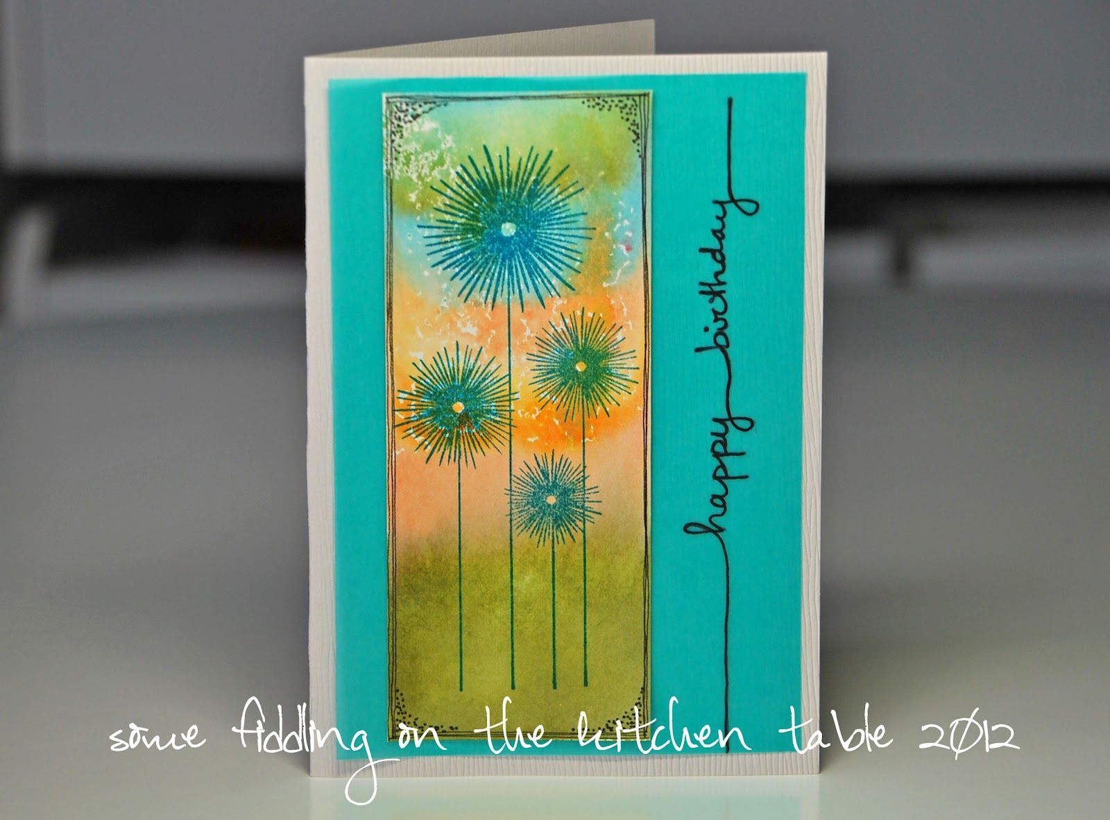 Some fiddling on the kitchen table | Card ideas | Pinterest | Art ...