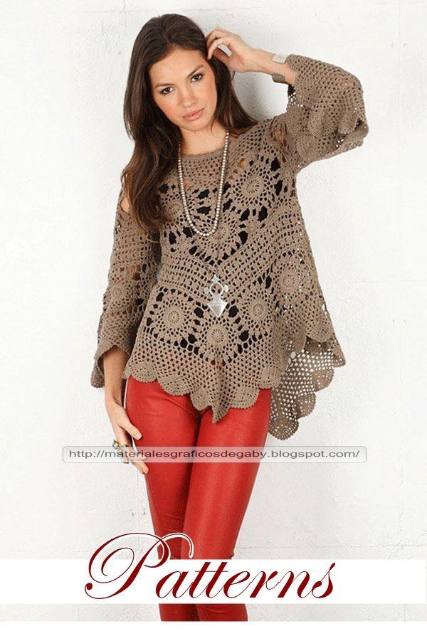 Moda crochet para damas de vanguardia que gustan tanto de los ...